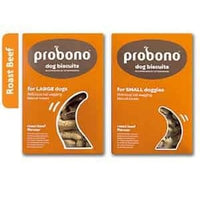 PROBONO BISCUITS ROAST BEEF SMALL DOG 1KG - ONLINE DEAL ONLY