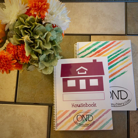 Diary and Housebook Bundle