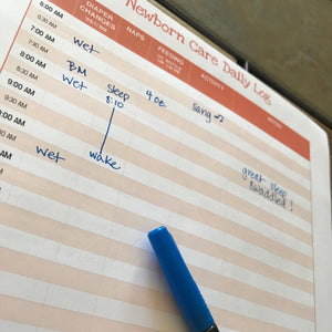 Newborn Care Log