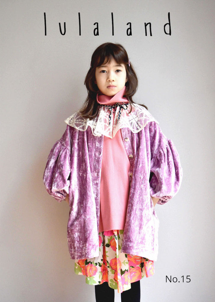 lulaland Fall No.15 Mirage collection. Girl wearing beautiful party clothes