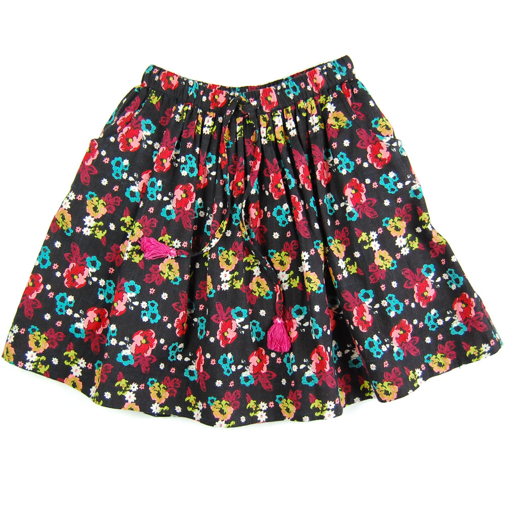 Annie Skirt Black Forest Organic