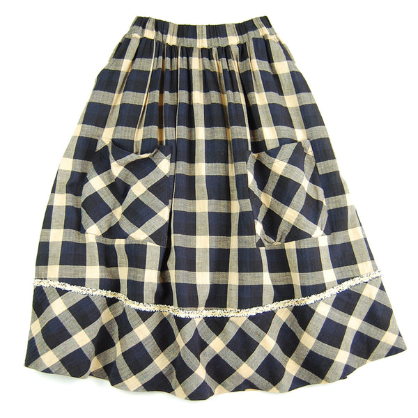 Helena Maxi Skirt Plaid