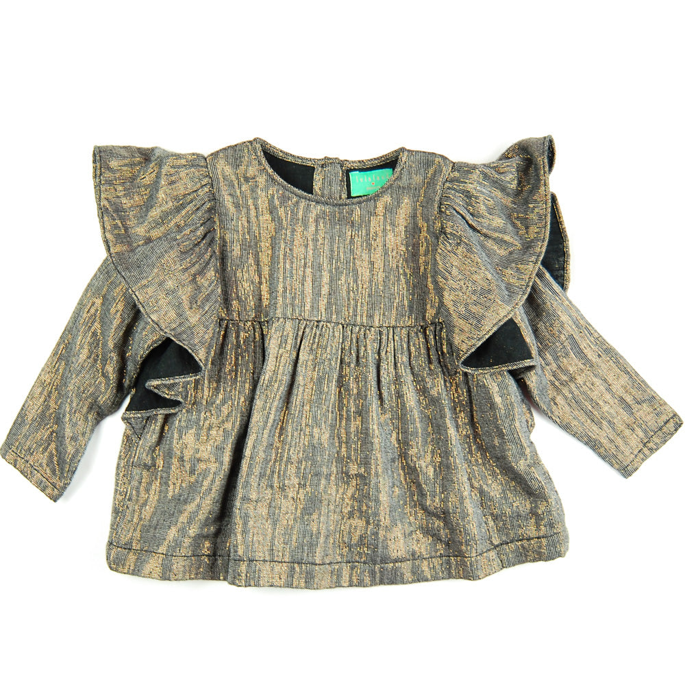 Lilly Blouse Metallic