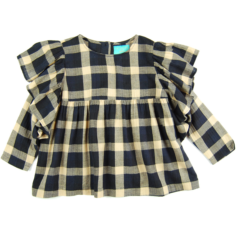 Lilly Blouse Plaid Flannel
