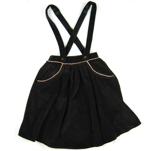 Tina Skirt Black Velour Organic