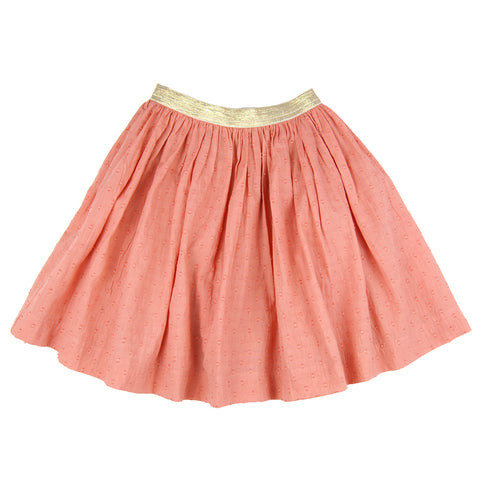 Frances Skirt Terracotta- Organic