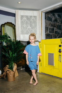 Toto Bloomer Blue Gingham