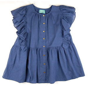 Rosita Dress Blue Stitches