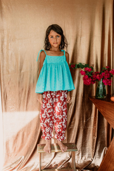 Anais Pants Chocolate Daisy- Organic