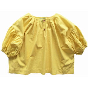 Zoe Blouse Lemon- Organic