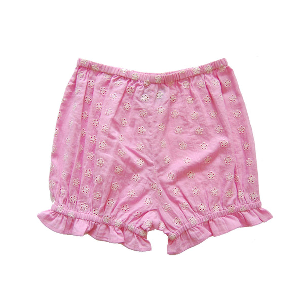 Coco bloomers embroidered gauze lilac