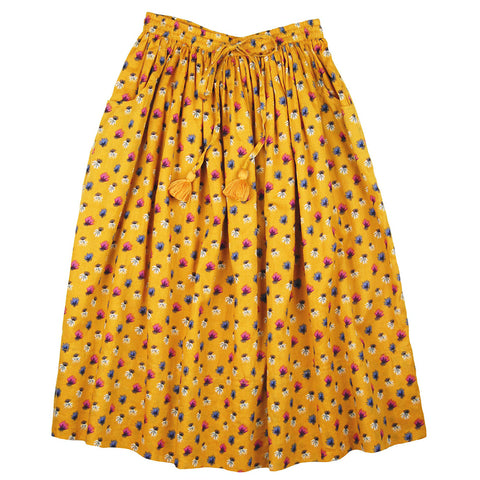 Ana Maxi Skirt Honey Organic