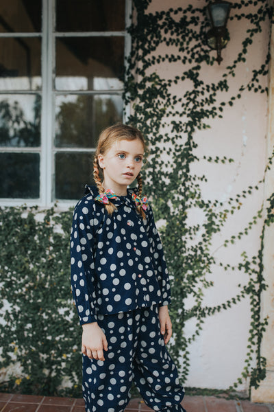 Anais Pants Dots Flannel