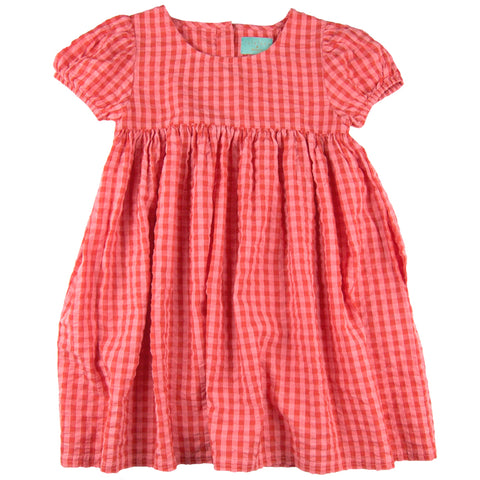 Maia Dress Red Gingham