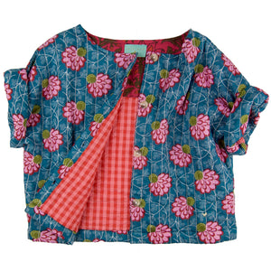 Rita Jacket Vest Water Lilly- Organic