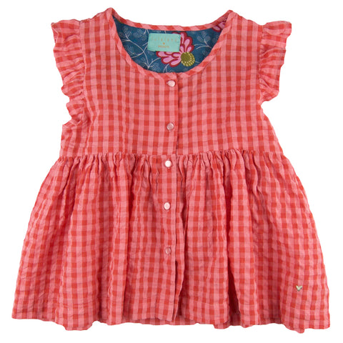 Olivia Blouse Red Gingham
