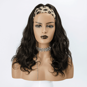 Grab-N-Go Headband Wigs 100% Body Wave Virgin Human Hair Wigs