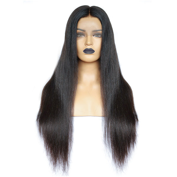 Transparent Whole Bleached Lace Front Wig