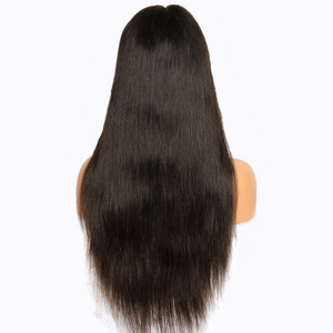 360 Lace Frontal Wig 150% Density Silky Straight Brazilian Virgin Hair