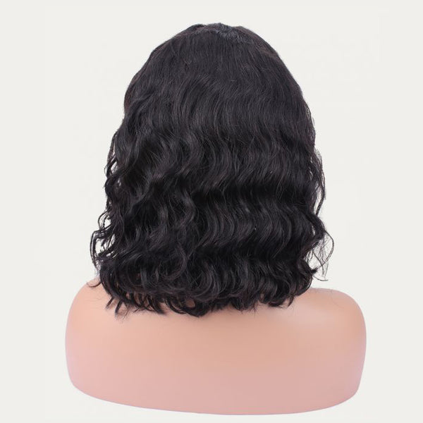 """Morgan"" HD Undetectable Transparent Body Wavy Lace Front Wig"