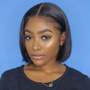 Beginner Friendly Black Wigs for Women Pre-plucked with Baby Hair for Sale