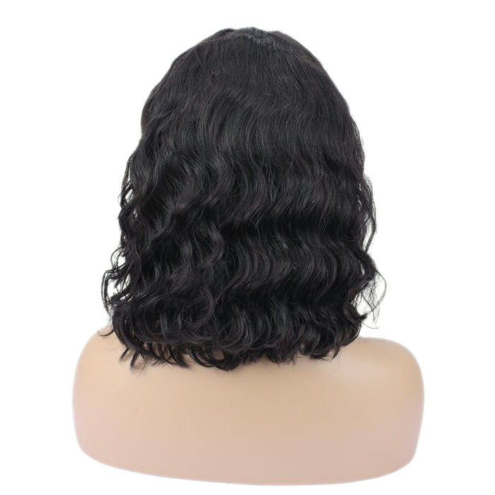 """Georgia"" Glueless No Baby Hair Body Wavy Lace Front Wig"