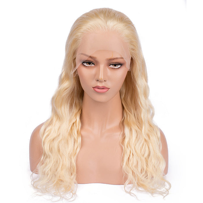 """Laurance"" #613 Natural Wavy Long Lace Front Wig"