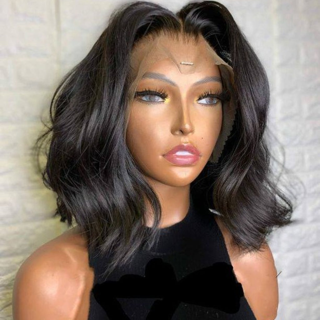 """Afiya"" Summer Style Body Wavy Full Lace Wig"