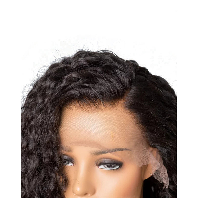 """Rihanna"" 250% Italian Curly Lace Front Wig"