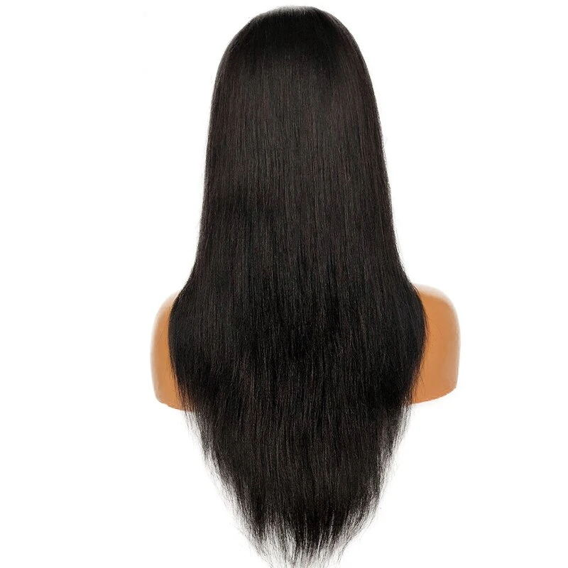 Undetectable Lace Human Hair Wigs Pre-plucked with Baby Hair for Black Women
