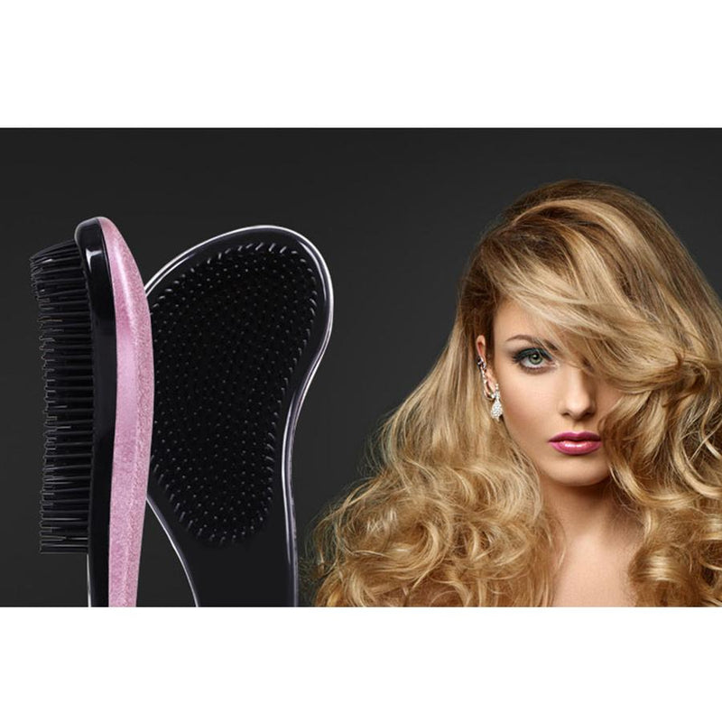 Purple Detangling Brush 18cm