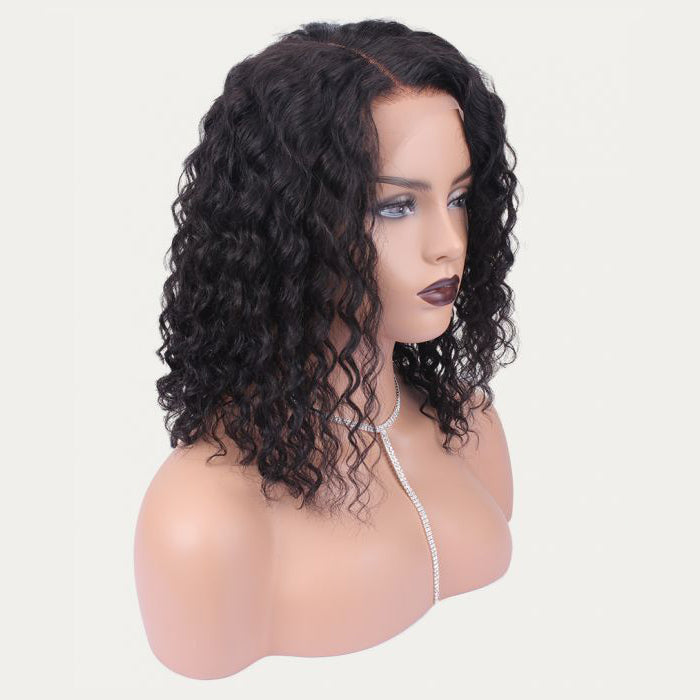 """Theresa"" HD Undetectable Transparent Water Wavy Lace Front Wig"