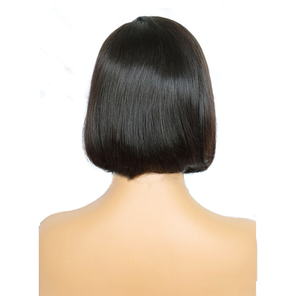 Side Part Lace Front Blunt Bob Wigs