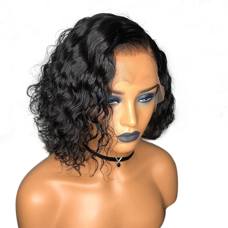 """Nicole"" Beginners Friendly Curly Short Cut Bob Wig"