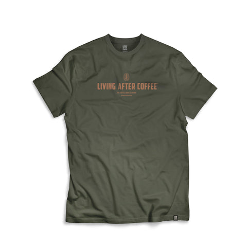 LIVING AFTER COFFEE | T-Shirt | 4 colores - Living After Coffee