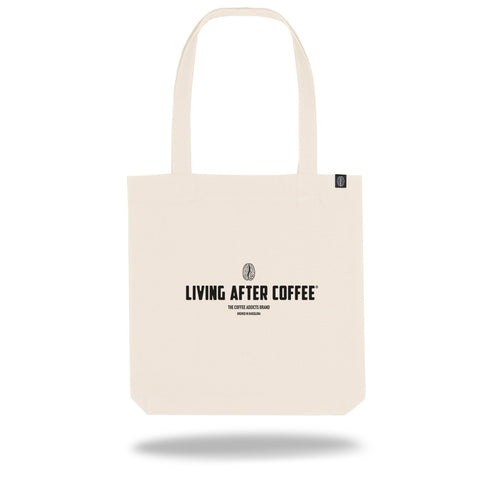 Living After Coffee | Shopper TOTE Bag - Living After Coffee