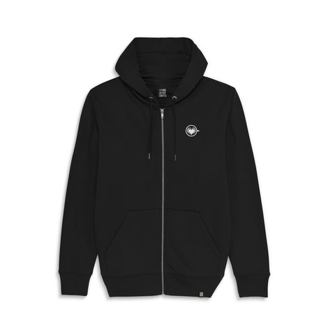 Latter Art HEART | Hoodie ZIP Embroidery - Living After Coffee