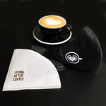Latte Art HEART | Mask - Living After Coffee