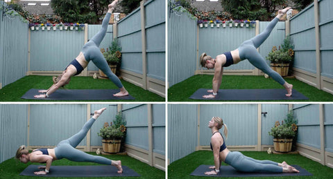 Double Dip Chaturanga