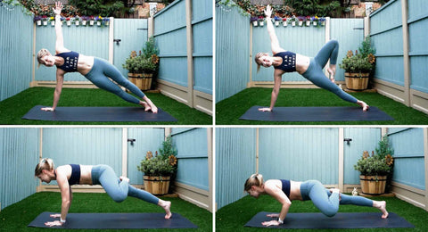One Legged Vinyasa