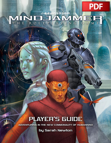MINDJAMMER: PLAYER'S GUIDE - PDF