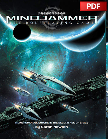 MINDJAMMER - RPG CORE RULEBOOK  - PDF