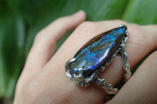 Load image into Gallery viewer, Boulder Opal With Fire Of The Ocean