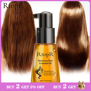Moroccan Preventative Hair Loss Product. Promotes Hair Growth with Essential Oil 35ml.  Unisex Hair Care