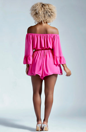 NEVER LATE ROMPER-ROMPERS-Twerkish Boutique