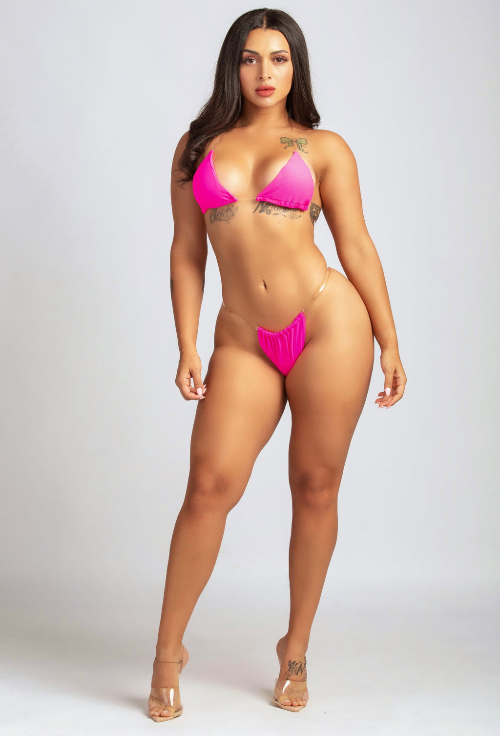 SUMMERTIME MADNESS BIKINI IN FUSHIA-SWIMWEAR-Twerkish Boutique