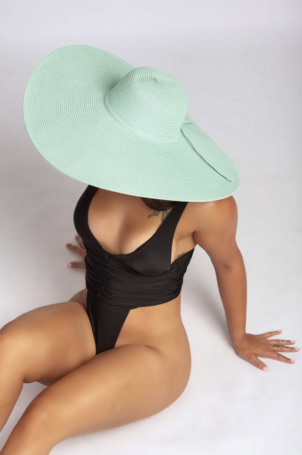 TAKE ME TO TULUM HAT IN MINT-ACCESSORIES-Twerkish Boutique