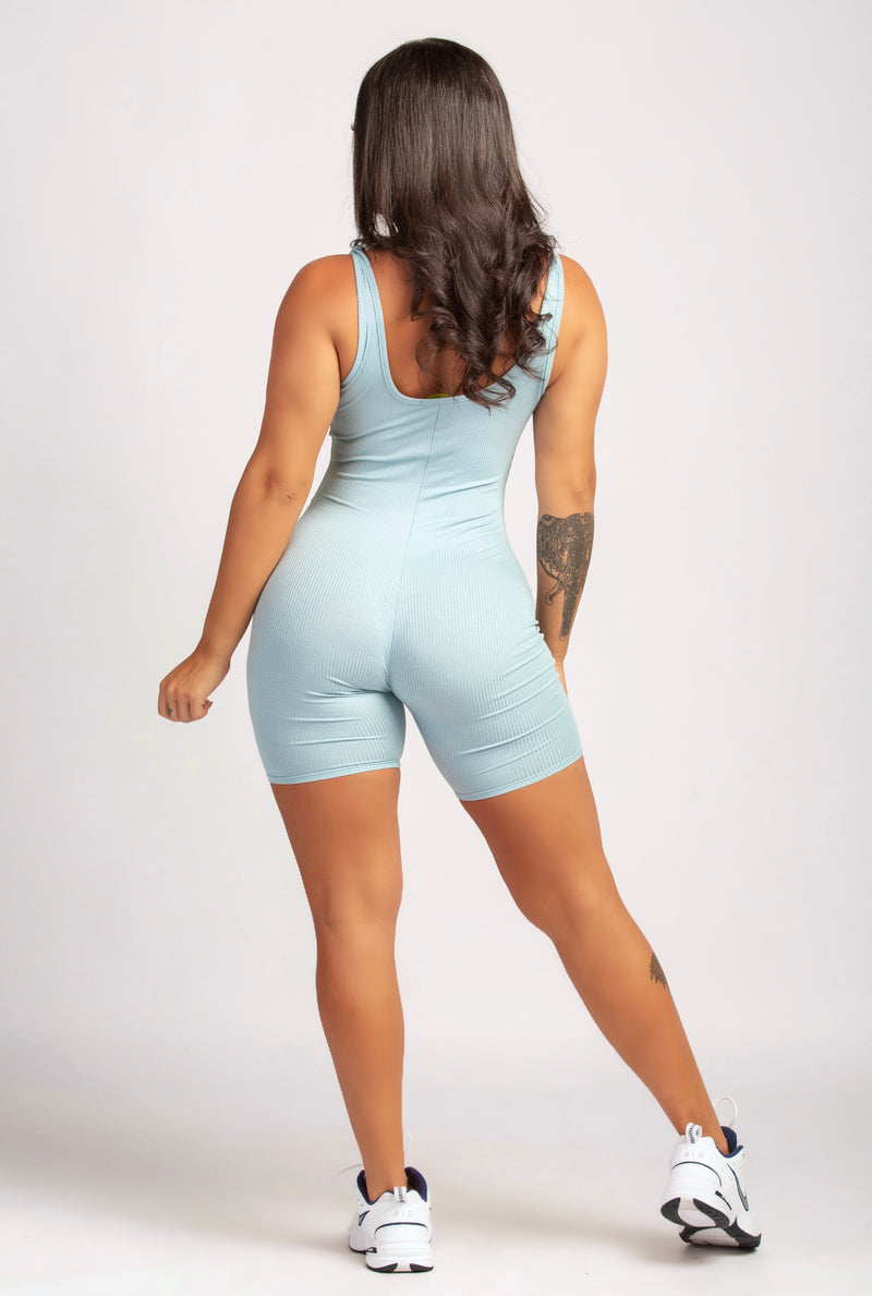 BAD REPUTATION ROMPER IN GREY-JUMPSUITS-Twerkish Boutique