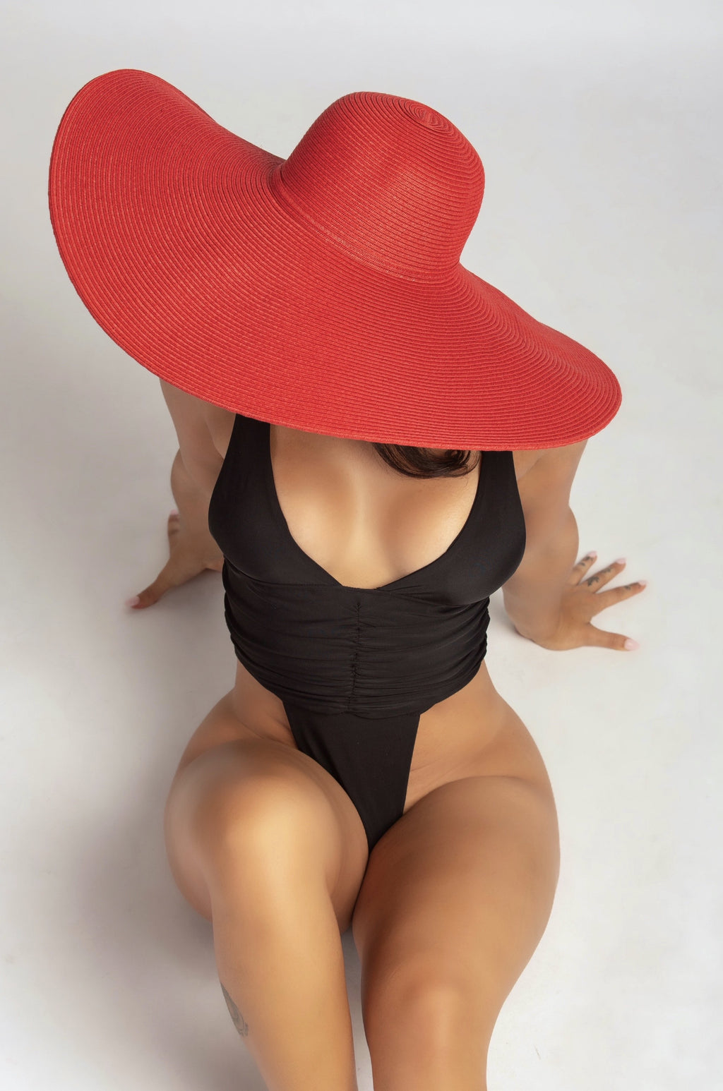 TAKE ME TO TULUM HAT IN RED-ACCESSORIES-Twerkish Boutique