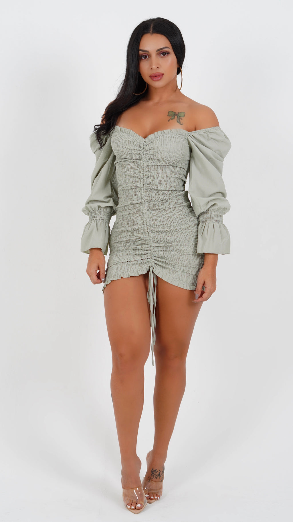 GOOD TIMES MINI DRESS-DRESSES-Twerkish Boutique